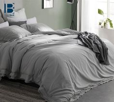 The best bedding is both comfortable and stylish and when both come together, well you have a GREAT night's sleep! The Leixoes Textura Duvet Cover is a 100% #Cotton_Duvet that will encase your cozy comforter and provide your #Bedroom_Decor with the perfect finishing touch.  #Portugal #Best_Bedding #Duvet_Cover #Soft_Duvets #Beautiful_Bedding #Gray_Duvet #Gray_Bedding #Gray_Decor