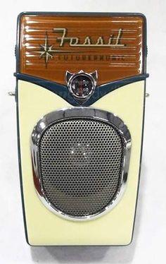 Fossil Transistor Radio