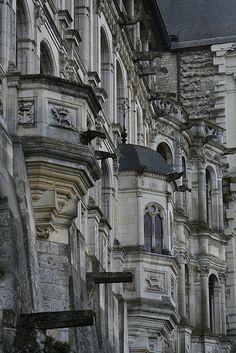 Château de Blois, Loire Valley, France.