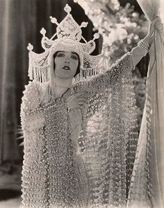 "Aileen Pringle in ""A Thief In Paradise"", c. 1925.  Aileen Pringle (July 23, 1895 – December 16, 1989) was an American stage and film actress during the silent film era."
