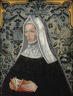 Margaret Beaufort, mother of Henry VII, grandmother of Arthur, Margaret, Mary, and Henry Tudor