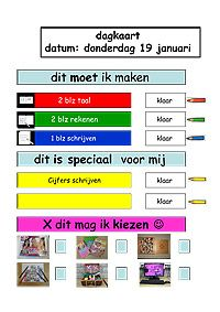 dagtaak groep 4 - Google zoeken Special Educational Needs, Co Teaching, School Hacks, School Ideas, 21st Century Skills, Teacher Inspiration, Gifted Kids, Classroom Management, How To Plan
