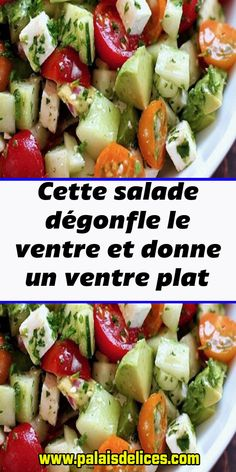 Salad Recipes, Diet Recipes, Cooking Recipes, Healthy Recipes, Sixpack Training, Nutrition Tracker App, Easy Detox, 100 Calories, Flat Stomach