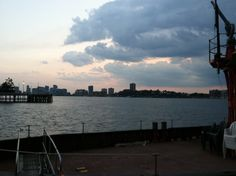 Hudson before a storm