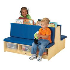 Find Jonti-Craft Read-A-Round Couch, Blue online. Shop the latest collection of Jonti-Craft Read-A-Round Couch, Blue from the popular stores - all in one Waiting Room Furniture, Daycare Rooms, Childcare Rooms, Daycare Ideas, Kids Rooms, School Ideas, Kids Office, Future Office, Front Office