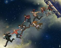 Doctor Who space walk.