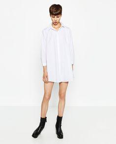 Image 1 of POPLIN DRESS from Zara
