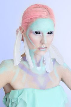 Pastel Warriors  Photography by meMake-up by Jolien Rosanne... POST YOUR FREE LISTING TODAY!   Hair News Network.  All Hair. All The Time.  http://www.HairNewsNetwork.com