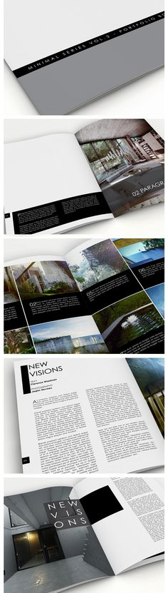 Portfolio Book Vol.2 - A4 InDesign template by ~anderworks on deviantART