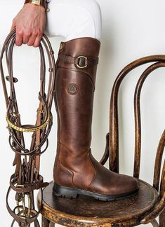 This boot has been a best seller since we started stocking them in February! Not surprising really! Mountain Horse have combined beauty and function into the perfect all purpose riding boot. The boot features an essential waterproof foot part. Equestrian Boots, Equestrian Outfits, Equestrian Style, Equestrian Fashion, Gaucho, Riding Hats, Riding Helmets, Horse Riding Boots, Mens Riding Boots