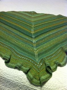 Ewe Lala  /  Knit with Spincycle Yarn's *Dyed In The Wool* / colorway: Deep Bump