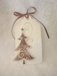 Christmas tags - tree