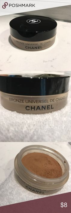 Chanel Bronzer Chanel Sun Illuminator/Bronzer. Slightly Used CHANEL Makeup Bronzer