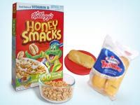 YIKES!   new EWG report on kids cereals.    One cup of any of three popular children's cereals contains more sugar than a Twinkie: Kellogg's Honey Smacks, Post Golden Crisp, and General Mills Wheaties Fuel.  Honey Smacks: 20 grams of sugar | Twinkies: 18 grams of sugar.
