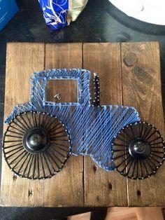 tractor string art, stringdiy stringlights #farmer #cows #tractor #farm string art pattern, string lights