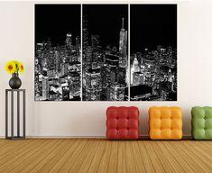 Chicago Wall Art miami skyline canvas wall art print miami wallworldwallartshop