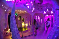 A unique art experience is coming to a blighted part of Denver, but it's not easy to properly describe Meow Wolf. Meow Wolf Santa Fe, Eternal Return, Interactive Museum, Retro Interior Design, Exhibition Booth, Exhibition Stands, Las Vegas, Room Design Bedroom, Immersive Experience