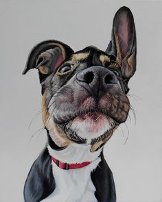 Love dogs? Check out artist James Ruby of James Ruby Works. Wow. Wishlist!