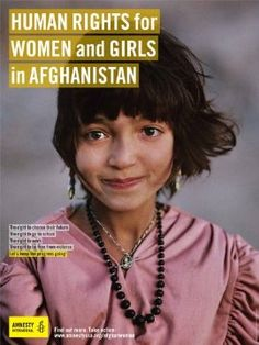Human rights for women and girls in Afghanistan