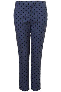 Spot Ankle Grazer Trousers - StyleSays