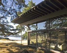 my friends house on Decatur Island By George Suyama