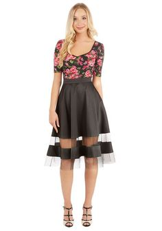 Tailored Translucence Skirt | Mod Retro Vintage Skirts | ModCloth.com