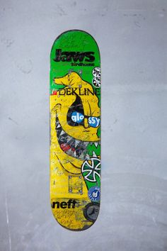 Daft Punk X Jaws Skateboard Featured As Part Of Boards   Bands Fundraiser -  EDM News afa86aab393