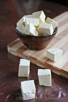 How to make Paneer / Homemade Paneer / Homemade Cottage Cheese ~ My Kitchen Experiments