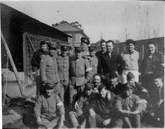 German POWs in Japan mainland during WW1.