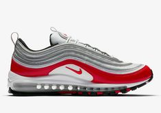 nike air max 97 the berry berry argento metallico a bordeaux il tè