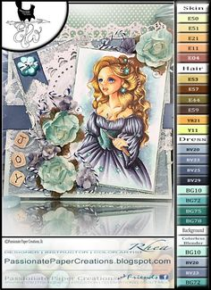Welcome back to Passionate Paper Creations with Rhea Weigand,  Today I am sharing The East Wind's, White Witch.  With 3 Copic Coloring Videos.