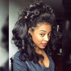 Transitioning? 11 Styles You Can Rock Throughout Your Entire Transition To Natural Hair [Gallery] Read the article here - http://www.blackhairinformation.com/general-articles/playlists/transitioning-11-styles-you-can-rock-throughout-your-entire-transition-to-natural-hair-gallery/