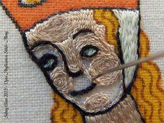 Opus Anglicanum Stitch Along - 149, by Sidney Eileen
