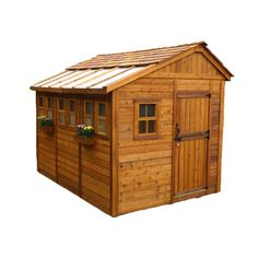 8 x 12 Sunshed Garden Shed with Dutch Door #Sheds