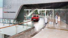 Audi Severlerin heyecanla beklediği Audi City, İstanbul İstinyepark'ta açıldı. #Audi Modelleri ve her konuda destek alınabilecek merkez için.