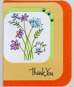 How to Use Watercolor Pencils and Rubber Stamps
