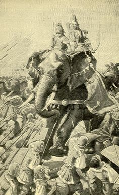 War elephant at the time of Alexander