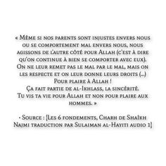 Hadith, Coran Islam, Islamic Quotes, Muslim, Religion, Parol, Impatience, Entourage, Parents