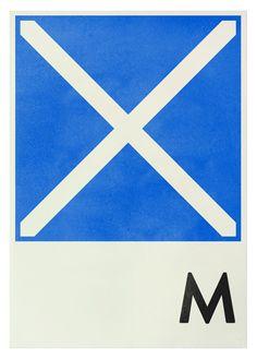 Navy signal - M