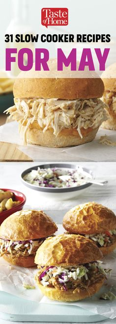 31 Slow Cooker Recipes For May