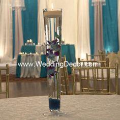 Wedding Centerpieces - blue dendrobium orchids