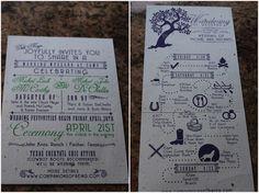 Geeky, Rustic, Summer Camp Wedding In The Woods | Bridal Musings