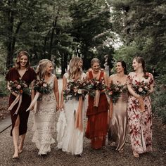 holy palette x texture goals. our girl kelsie x her girls killing the game. congrats kels, so grateful you are one of ours✨ Bridesmaid Dresses Under 100, Mismatched Bridesmaid Dresses, Burgundy Bridesmaid Dresses, Bridesmaids, Boho Beach Wedding, Boho Wedding Dress, Wedding Pics, Wedding Ideas, Bohemian Wedding Inspiration