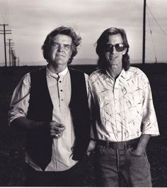Pancho and Lefty: Texas singer-songwriters supreme Guy Clark and Townes Van Zandt. Guy Clark (November passed away today in Nashville, TN from a long battle with cancer. He was 74 years old. Celebrities Read Mean Tweets, Pancho And Lefty, Townes Van Zandt, Texas Music, Americana Music, Outlaw Country, Music Promotion, Country Music Singers, Blues Rock