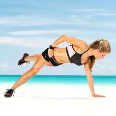 The Flying Passe works your shoulders, back, abs and legs - phew!