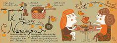 Cositas Ricas Ilustradas por Pati Aguilera Chilean Recipes, Chilean Food, Good Food, Yummy Food, Food Illustrations, Food Art, Cocktails, Drinks, Tea