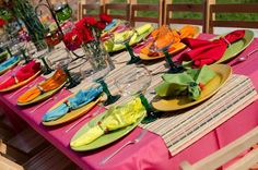 Fiesta Bridal Shower   See more party ideas at CatchMyParty.com.  #fiesta #bridalshower