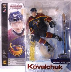 McFarlane Toys NHL Sports Picks Series 4 Action Figure: Ilya Kovalchuk w/ Atlanta Helmet (Atlanta Thrashers) Blue Jersey by McFarlane Toys. $14.99