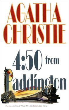 4:50 From Paddington by Agatha Christie; alt: What Mrs. McGillicuddy Saw; alt: Murder She Said; Miss Marple