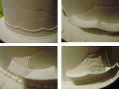 PAULINE BAKES THE CAKE!: Australian String Work : The 'Rolls Royce' of Cake Decorating